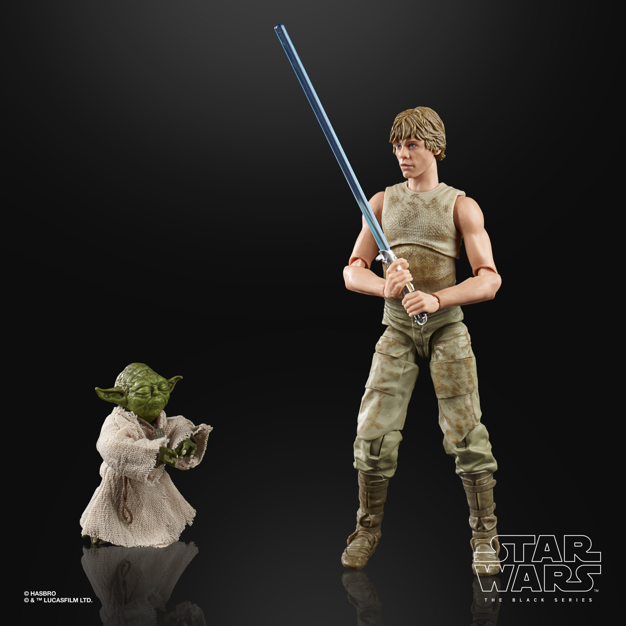 "Star Wars Black Series Empire Strikes Back 40th Anniversary 6/"" Luke Skywalker"