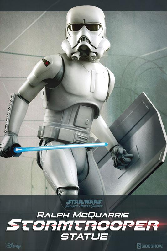 Star Wars Ralph Mcquarrie Stormtrooper Concept Artist Series