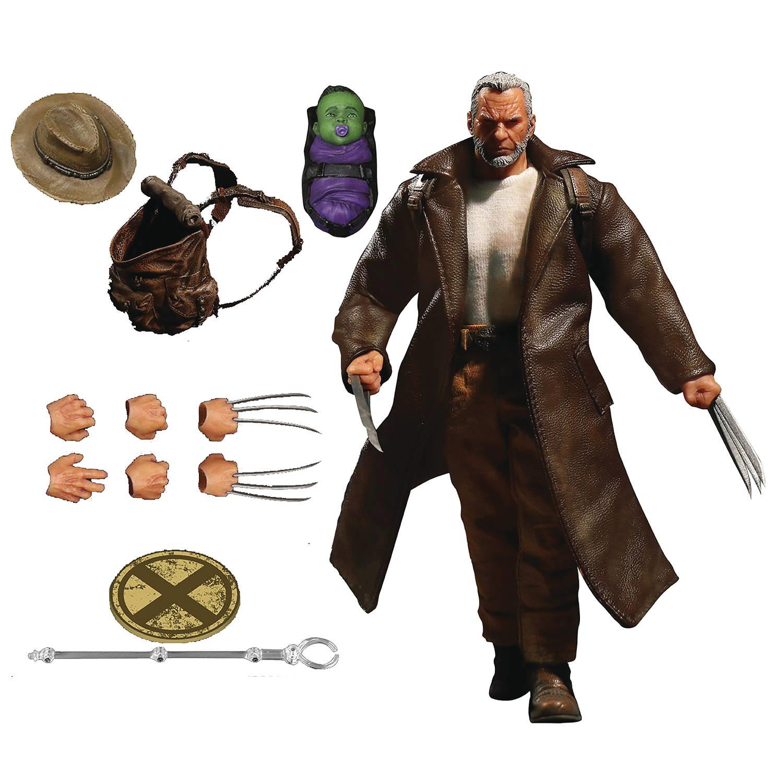 One-12 Collective Marvel Old Man Logan Mezco Toyz