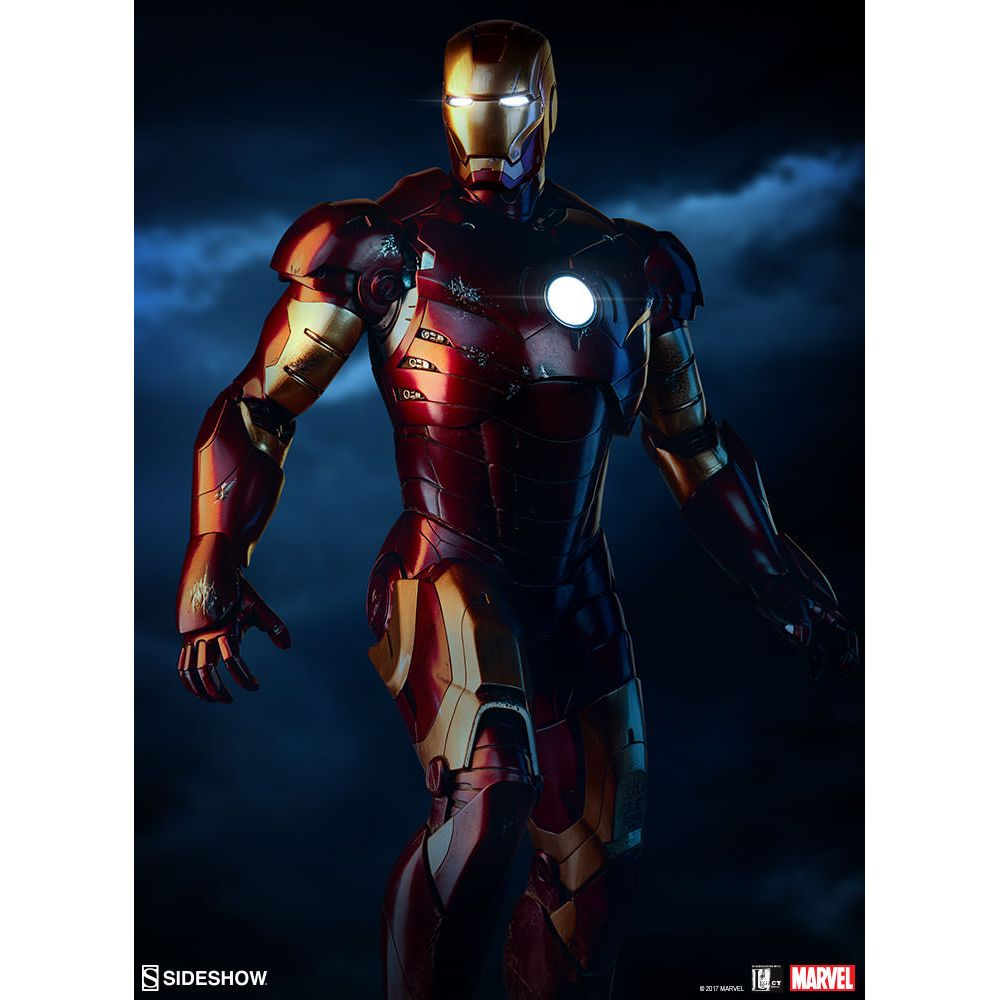 Iron Man Mark Iii Maquette Sideshow Collectibles 300172