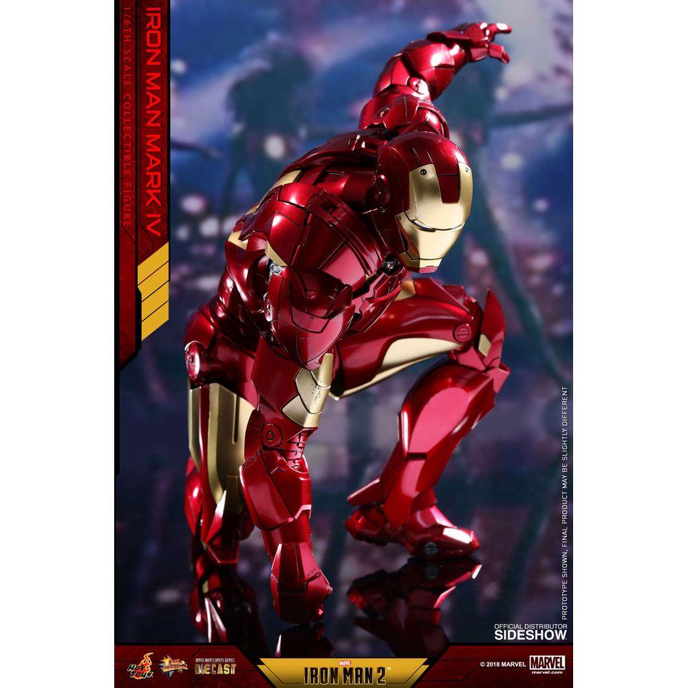 Iron Man Mark Iv Diecast Movie Masterpiece Series 16 Scale Figure