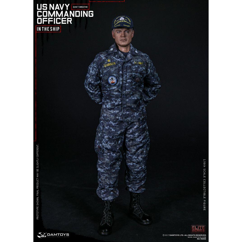 "DAMTOYS 78050 1//6 Scale Navy Commanding Officer 12/"" Action Figure Coat Pants"