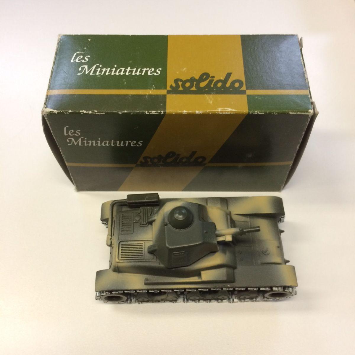 Solido Hachette Collection Char D'assaut Renault R35