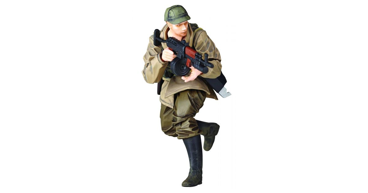 NEW Metal Gear Solid V The Phantom Pain RMEX-002 Soviet Soldier Action Figure