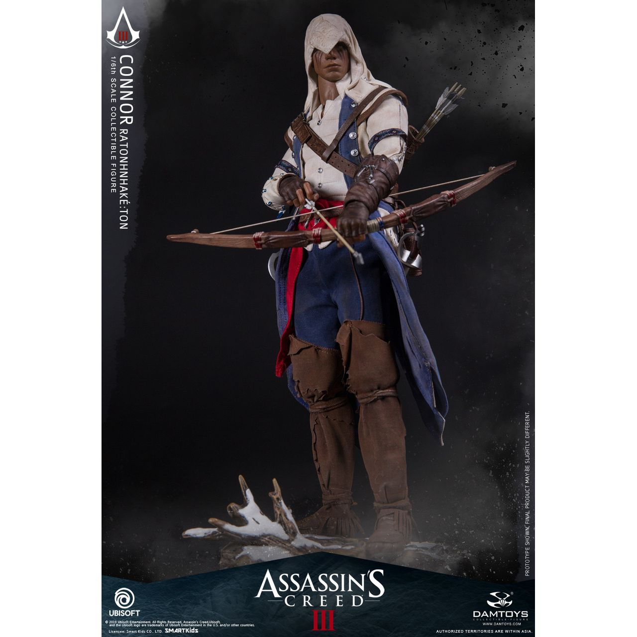 Assassin S Creed Iii Connor 1 6 Figure Dam Toys