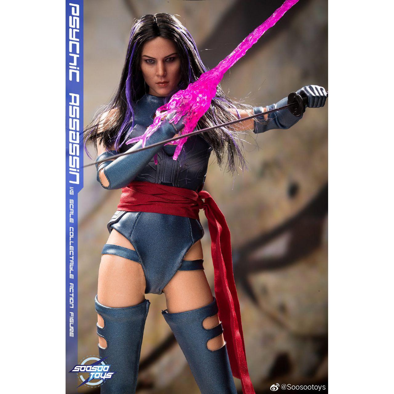 1//6 Psylocke Assassin X-men Female Figure Full Set SOOSOOTOYS SST-009 ❶USA❶