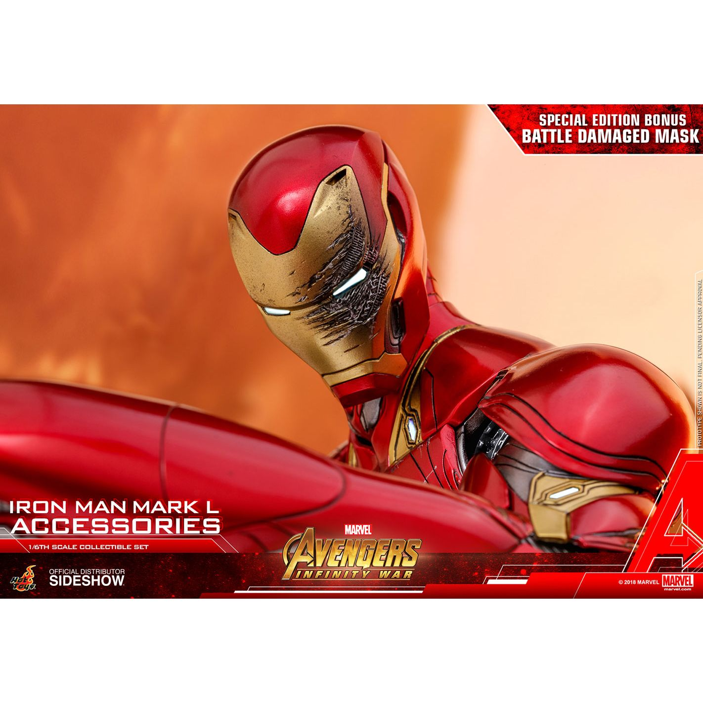 Iron Man Mark L Accessories (Special EXCLUSIVE Edition) Collectible Set by  Hot Toys Accessories Collection Series - Avengers: Infinity War 9038041