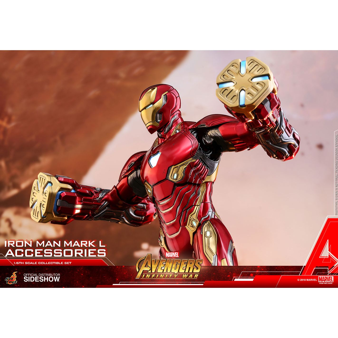 Iron Man Mark L Accessories (Special REGULAR Edition) Collectible Set by  Hot Toys Accessories Collection Series - Avengers: Infinity War 903804