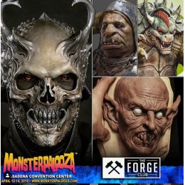 Monsterpalooza April 12-14, 2019 in Pasadena, CA. Over 250 Exhibitors, monster museum, make up demo, guest, etc.