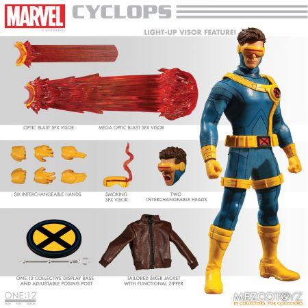* Pre Order * One-12 Collective Marvel Cyclops Mezco Toyz