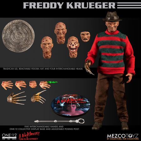 One-12 Collective Nightmare On Elm Street Freddy Krueger Mezco Toyz