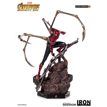 Iron Spider-Man Statue by Iron Studios Avengers: Infinity War - 1:4 Legacy Replica 903767