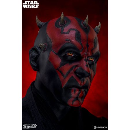 Darth Maul Buste lifesize bust Sideshow Collectibles 400313