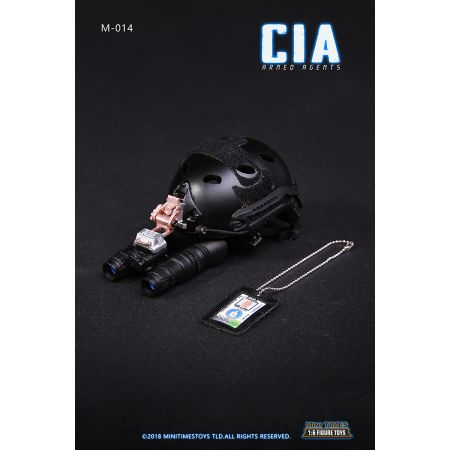 CIA Agent Armé MT-014A figurine 1:6 Mini Times MT-014A