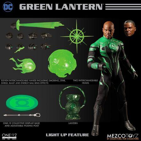 One-12 Collective DC Green Lantern John Stewart Mezco Toyz