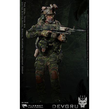 DEVGRU US seals 6 team jungle dagger figurine 1:6 Flagset FS 73020