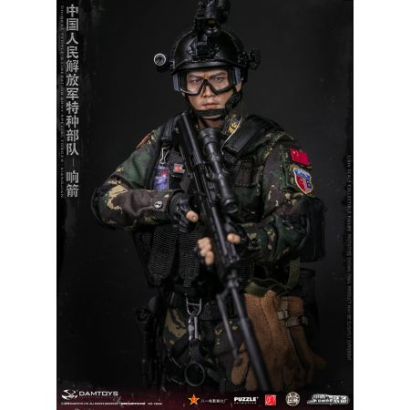 Chinese People's Liberation Army Forces Spéciales Xiangjian figurine 1:6 Dam Toys 78048Chinese People's Liberation Army Forces Spéciales Xiangjian figurine 1:6 Dam Toys 78048