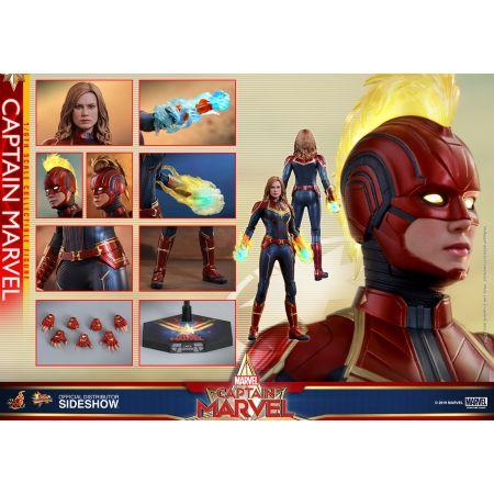Captain Marvel Regular Version 1:6 figure Hot Toys 904462