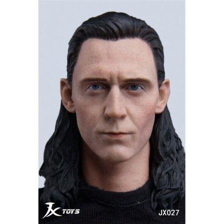 Tête style Loki 1:6 JX Toys JXT-027
