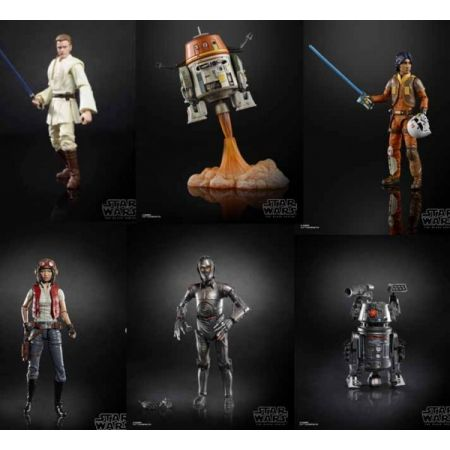 Star Wars The Black Series 6-inch Wave 21 Set of 6 Figures