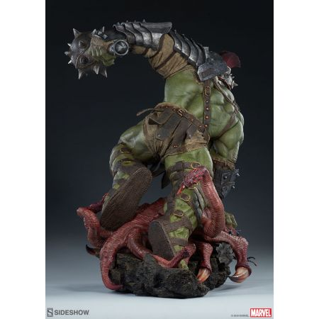 Gladiator Hulk Maquette Sideshow Collectibles 300674