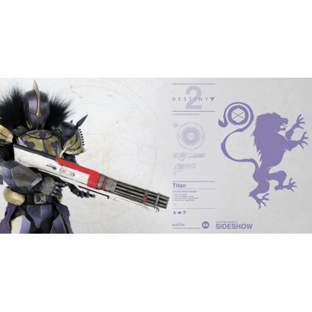 Destiny 2 Titan (Golden Trace Shader) figurine 1:6 ThreeA Toys 904498