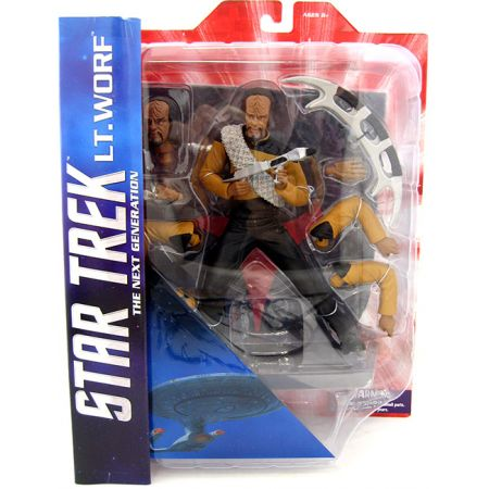 Star Trek Select Worf 7 inches