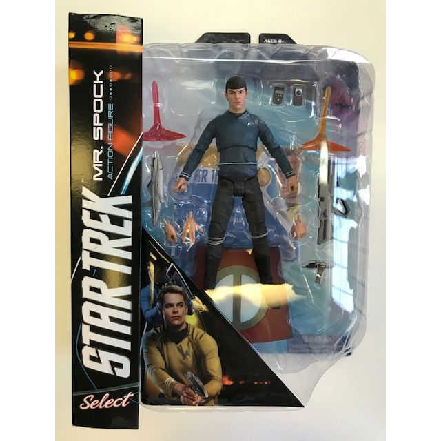 Into the Darkness Star Trek Select Spock 7 Inch Action Figure
