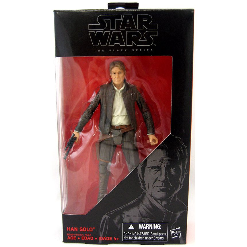 "HASBRO Star Wars 6/"" Black Series épisode VII Han Solo"