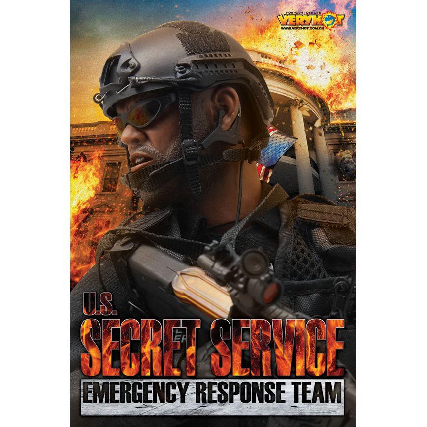 magasin britannique dernières tendances de 2019 sélectionner pour le meilleur US secret Service Emergency Response Team accessories for 1:6 action figure  Very Hot Toys VHT-1033